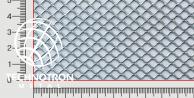 FQ 8 x 7 x 1 x 1 mm, walcowana, Siatka cięto-ciągniona z blachy stalowej DC01 - DC05
