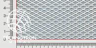 FR 10 x 5 x 1,6 mm; 0,7x1000x2000 mm, walcowana, Siatka cięto-ciągniona z blachy stalowej  DC01-DC05