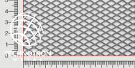 TR 10 x 5 x 1 mm, 0,5x1000x2000 mm, Siatka cięto-ciągniona z blachy nierdzewnej 1.4301