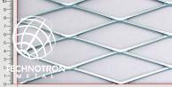 TR 125 x 40 x 4 mm; 3x1250x2000 mm, Siatka cięto-ciągniona z blachy stalowej DD11 - DD13