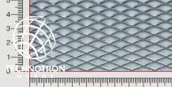 TR 16 x 6 x 1,6 mm; 0,8x1000x2000 mm, Siatka cięto-ciągniona z blachy staloweju DC01-DC05