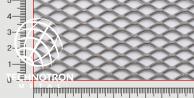 Siatka cięto-ciągniona TR 16 x 8 x 1,5 mm, 1x1000x2000 mm, z blachy aluminiowej ENAW1050