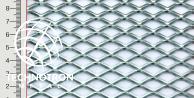 TR 22 x 12 x 3 x 2 mm, Siatka cięto-ciągniona z blachy stalowej DC01-DC05