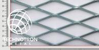 TR 90 x 31,5 x 4  mm; 3x1250x2400 mm; Siatka cięto-ciągniona z blachy stalowej DD11 - DD13