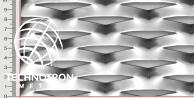 TR 90 x 32 x 13 x 1,5 mm; Siatka cięto-ciągniona z blachy stalowej DC01 - DC05