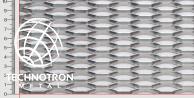 Wypełnienia ogrodzeniowe - Power TH 47x13x5x2 mm, Siatka cięto-ciągniona z blachy aluminiowej ENAW1050