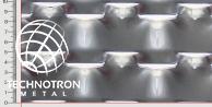 MIREK TD 62,5/35 x 25+8 mm, gruboś 2 mm,  Siatka cięto-ciągniona z blachy aluminiowej ENAW1050