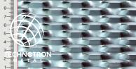 Siatka cięto-ciągniona Strong TH 47 x 18 x 8 mm, 1.5 x 1000 x 2000, z blachy Corten